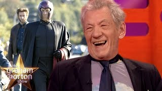 Sir Ian McKellen Still Wears Magneto's Bodysuit! | The Graham Norton Show