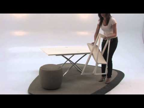 Calligaris CS/5041-W Magic-J Folding Tables by DIV Furniture