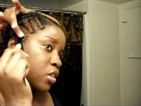 Black Short Hair Style: Quick Finger Waves and Natural Curl