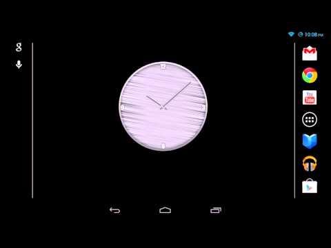 Video of Metal Clock (Widget)