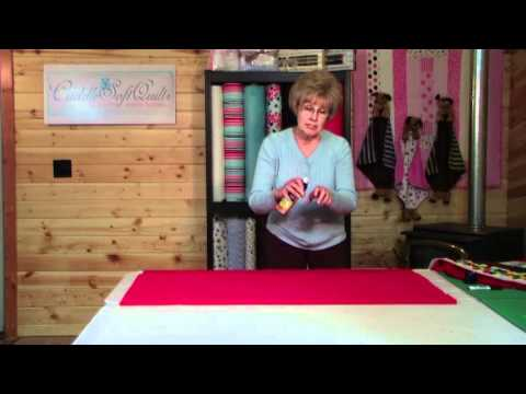 , title : 'How to Sew a Minky Row by Row Quilt - Batting and Back'