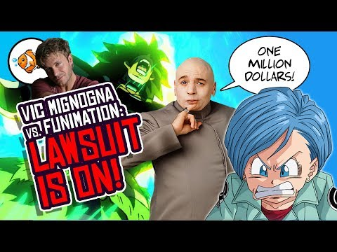 Vic Mignogna Sues Funimation, Monica Rial, Jamie Marchi And Ron Toye!