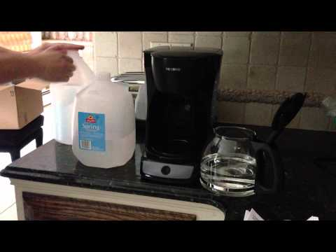 HOW TO: Setup and Break-in Brand New Mr Coffee Maker