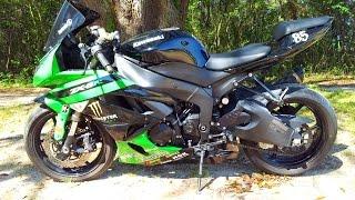 10. 2009 Kawasaki Ninja ZX 6R
