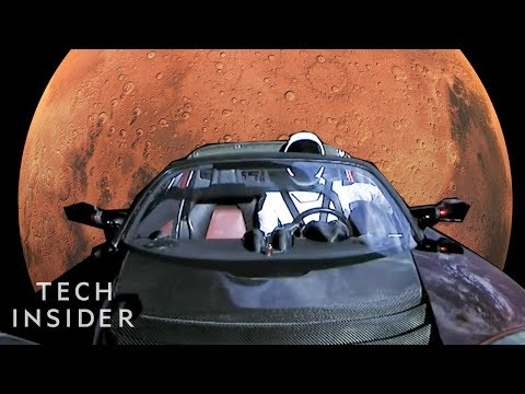 Where Is Elon Musk's $100K Roadster He Sent To Space A Year Ago?