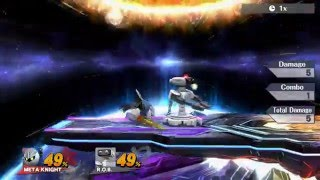 Meta Knight jab lock set ups