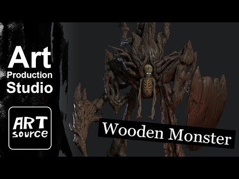 ArtSource / Wooden Monster