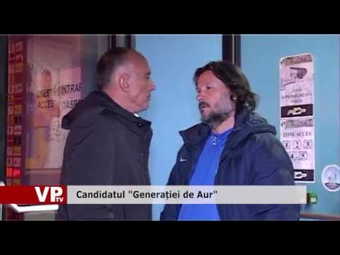 "Candidatul ""Generației de Aur"""