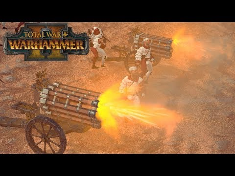 Return of the Hellblaster Volley - Empire vs High Elves // Total War: Warhammer II Online Battle