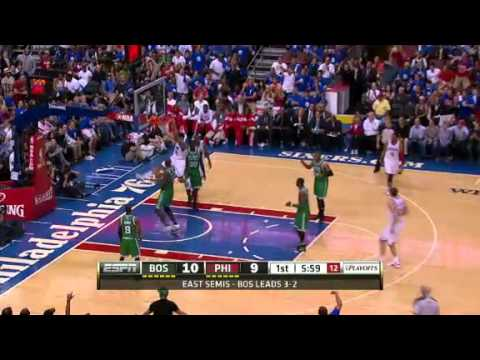 Evan Turner Dunks On Celtics