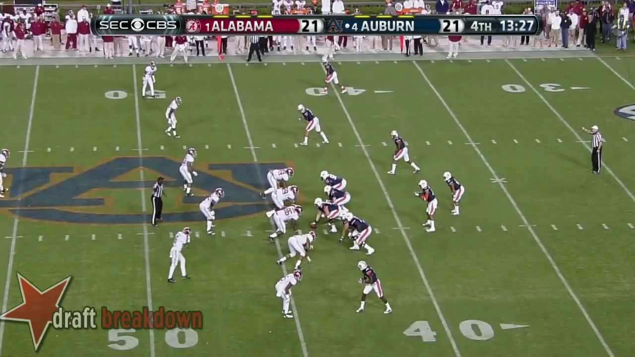 Greg Robinson vs Alabama (2013)
