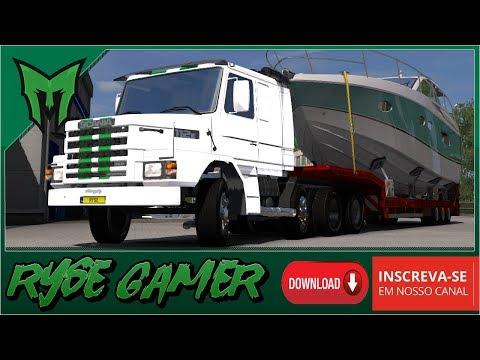 Scania 2 Series edit mjtemdark 1.31.x