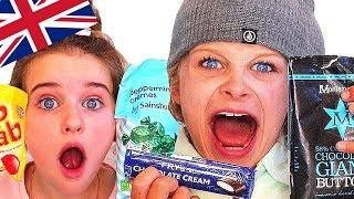 Video AUSTRALIAN KIDS TRYING BRITISH CANDY ft. Fizz Sisters (collab) MP3, 3GP, MP4, WEBM, AVI, FLV September 2018