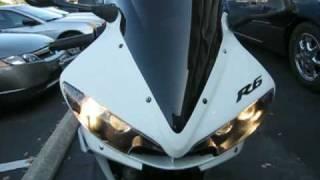 5. 2003 Yamaha R6 Start up