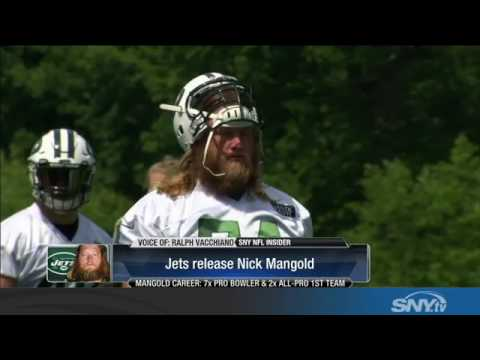 Video: The New York Jets release center Nick Mangold