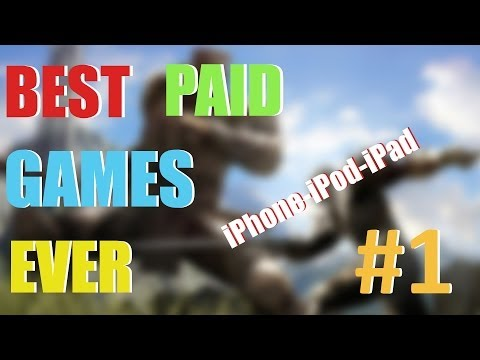 Best Paid Games Ever for iOS – PART 1 (iPhone, iPod, iPad)
