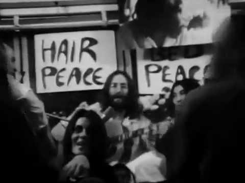 give peace a chance - john lennon - video ufficiale - guerra vietnam