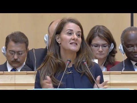 WHO: Melinda Gates speech – 67th World Health Assembly 20 May 2014