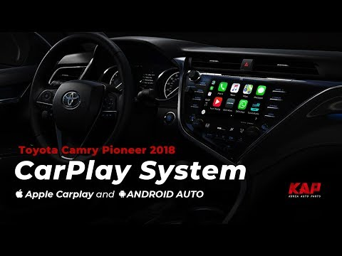 TOYOTA CAMRY 2018 ~2019 CARPLAY ANDROID AUTO