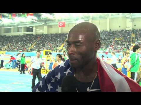 Bernard Lagat defends world 3k title Istanbul World Champs 2012