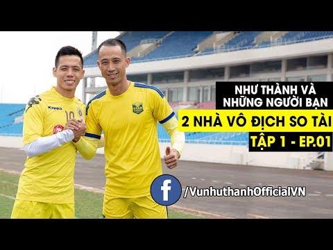 Thử Thách Bóng Đá 1 : Vũ Như Thành Vs Văn Quyết Đội Trưởng ĐT Việt Nam - Thời lượng: 6 phút, 6 giây.