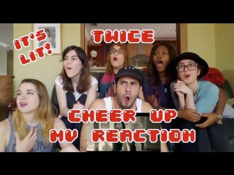 Video AKA REACTS! TWICE(트와이스) CHEER UP MV Reaction download in MP3, 3GP, MP4, WEBM, AVI, FLV January 2017