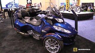 3. 2016 Can am Spyder RT Limited - Walkaround - 2015 AIMExpo Orlando
