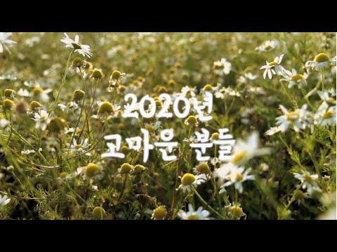 몽당연필 2020년 고마운 분들