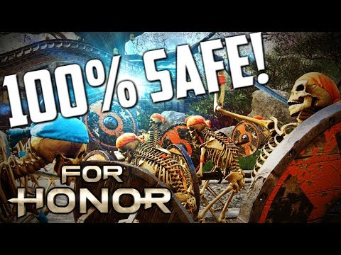 [For Honor] Endless March Minion Strategy! 100% Safe!