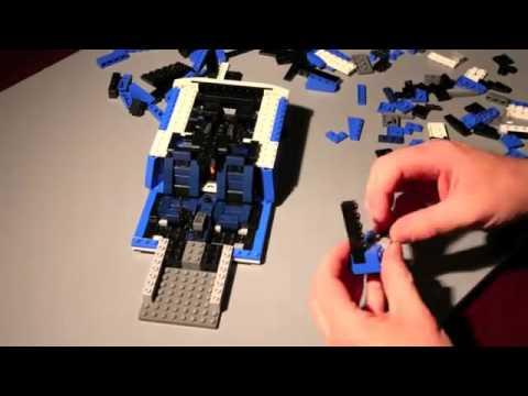 Vidéo LEGO Racers 8214 : Lamborghini Gallardo LP 560-4 Polizia