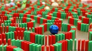 Vánoční domino