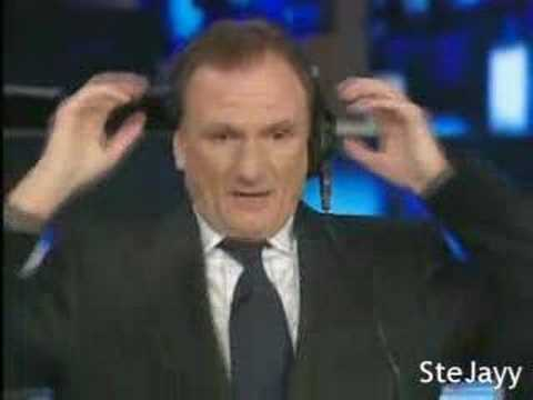 Phil Thompson Reacts To Riise's Own Goal V Chelsea