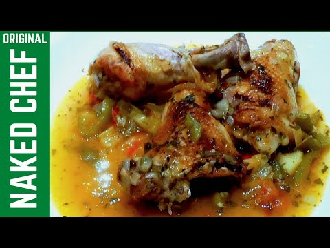 Mediterranean Chicken Stew How to Cook recipe food