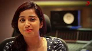 Shreya Ghoshal - Desingu Raja Exclusive Interview Part 1