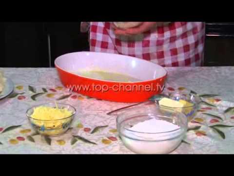 Receta e Ditës - Lulelakër me beshamel dhe krem djathi në furrë
