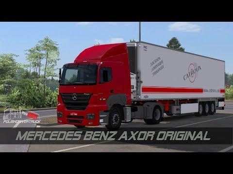 Mercedes Benz Axor Original 1.28.x