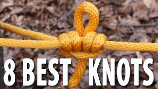 Video 8 KNOTS You Need to Know - How to tie knots that you will actually use. MP3, 3GP, MP4, WEBM, AVI, FLV Oktober 2018