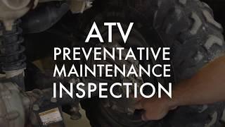 5. ATV Preventative Maintenance