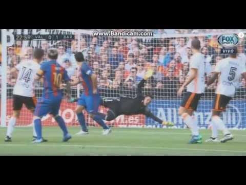 Valencia vs Barcelona 2-3 All Goals 22\10\2016