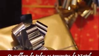 Tarjeta de Navidad para compartir. O melhor presente de Natal