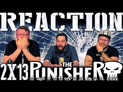 """The Punisher 2x13 FINALE REACTION!! """"The Whirlwind"""""""