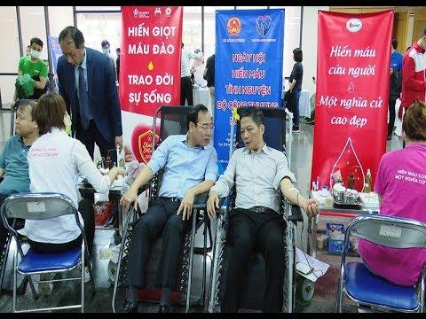 Bộ Công Thương sôi nổi hưởng ứng Ngày hội hiến máu tình nguyện