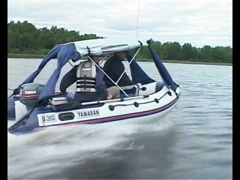 тент для лодки yamaran