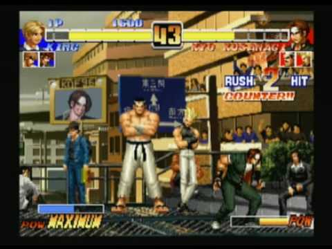 the king of fighters collection the orochi saga wii cheat codes