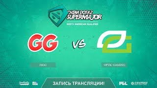 IsGG vs Optic Gaming, China Super Major NA Qual, game 2 [Mila]