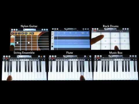 Video of 随身乐队: 钢琴, 吉他, 架子鼓...