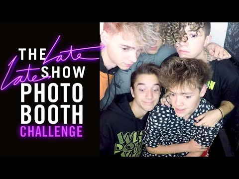 Three-Second Photo Booth Challenge w/ Why Don't We