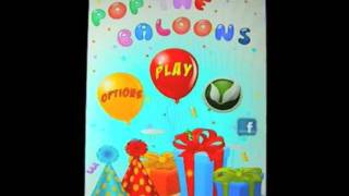 Pop The Balloons YouTube video