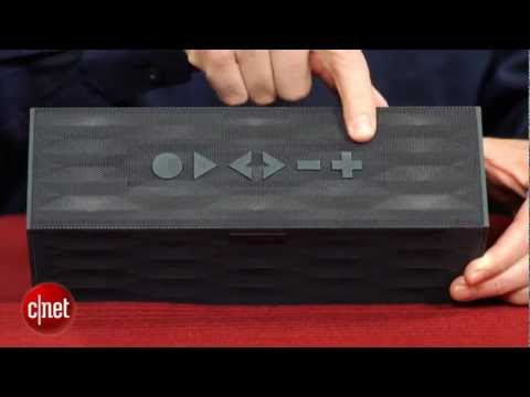 jawbone - http://goo.gl/ZvdFt The Jambox grows up and, not surprisingly, sounds a lot better.
