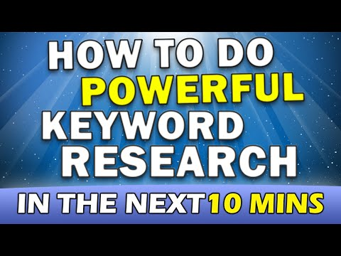 Search Engine Optimization Tips – Keyword Research